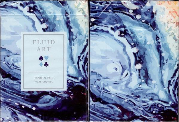 Fluid-Art-Blue-(Standard-Edition)-Playing-Cards (1)